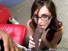 blacks on blondes - Lily Carter