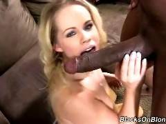 blacks on blondes - Britney Young