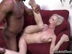 Skylar Green's in the mood to make someone her cuckold: You! The tiny blonde has Jovan Jordan come over for the humiliation session that YOU are