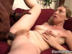 We're bringing you yet another white chicks first EVER interracial scene. Tegan Riley