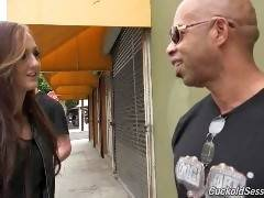 Shane Diesel's years of fucking white sluts on camera can only mean that he's recognized constantly in public. Kendra Cole