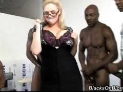 Blacks On Blondes. Katie Kox